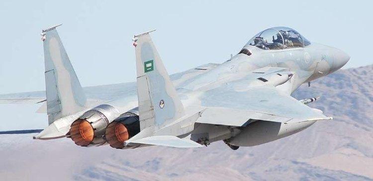 Coalition fighters bomb militia positions in Al-Bayda