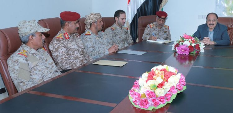 VP meets with Al-Jawf's governor