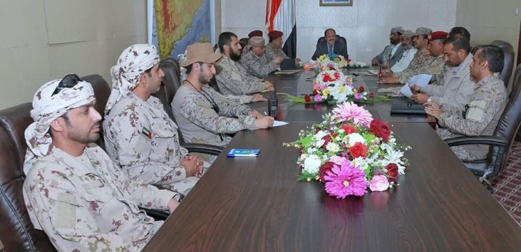 VP holds joint meeting of military command in Marib