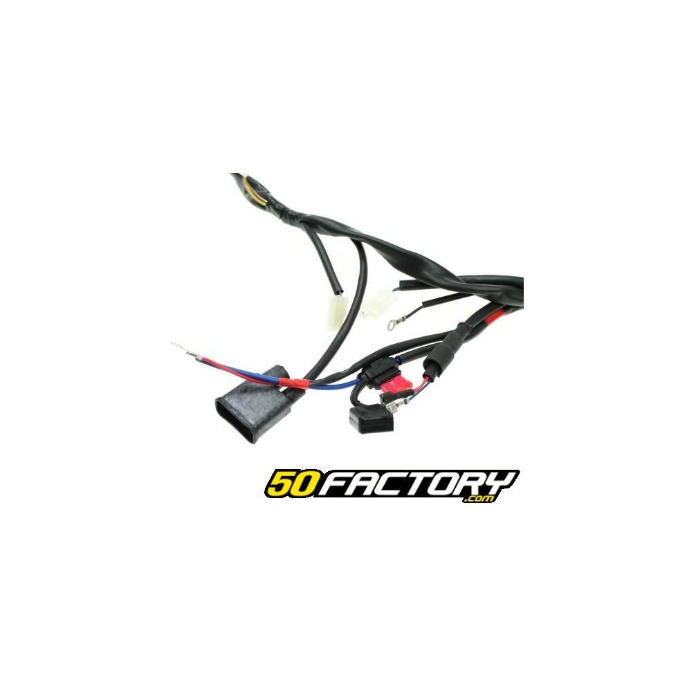 Yamaha dt electrical harness, mbk xlimit, malaguti xsm and