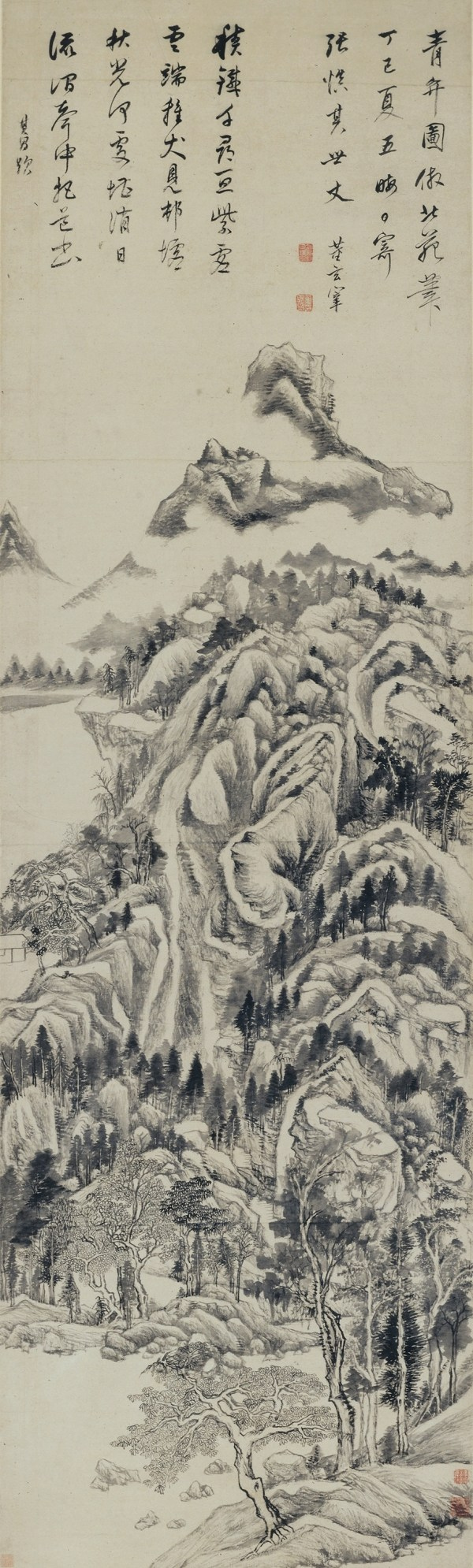 The Dwelling in Qingbian Mountains