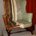 New england easy chair at the winterthur museum and country estate