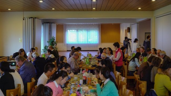 Chinese House Church Christians and German Friends Ring in