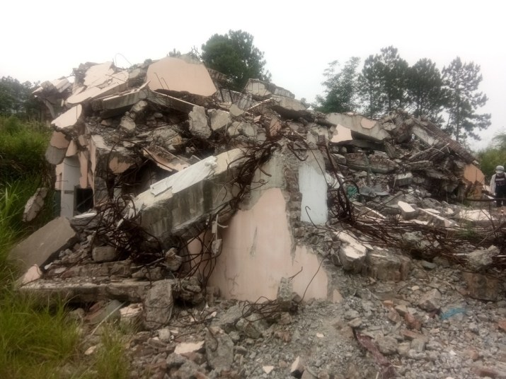 Three-Self Gospel Church Was Demolished in Fujian