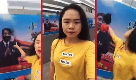 Woman Who Splashed Xi Jinping Poster Sent to Psychiatric Hospital