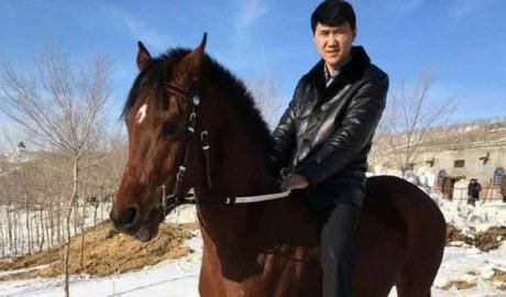 Undated photo of Uyghur real estate mogul Memet Hamdul