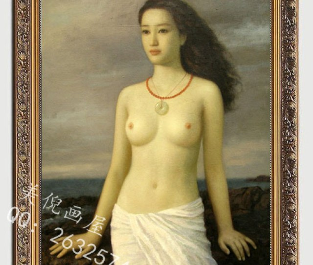 High Quality Hand Painted Nude Woman Oil Painting Canvas Painting Free Shipping