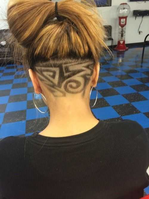 Cool Hairstyles Up The New Hair Trend Secret Undercut Hair Tattoos