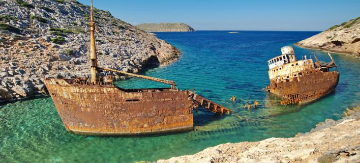 The Melancholic Shipwreck of Amorgos