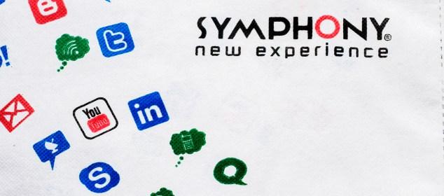 symphony logo android kothon shoot
