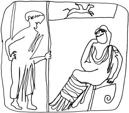 Couple sur vase grec:on Greek vase crpt