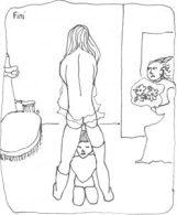 Leonor_Fini_Girl_Kneeling_under-mother