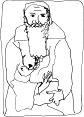man_breastfeeding_baby_Rembrandt