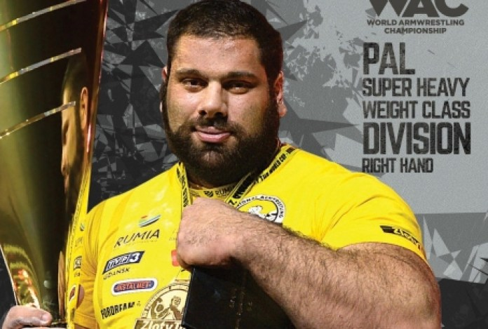 """Levan Saginashvili: """"I'm ready to fight with any opponent"""" # Armwrestling #  Armpower.net"""