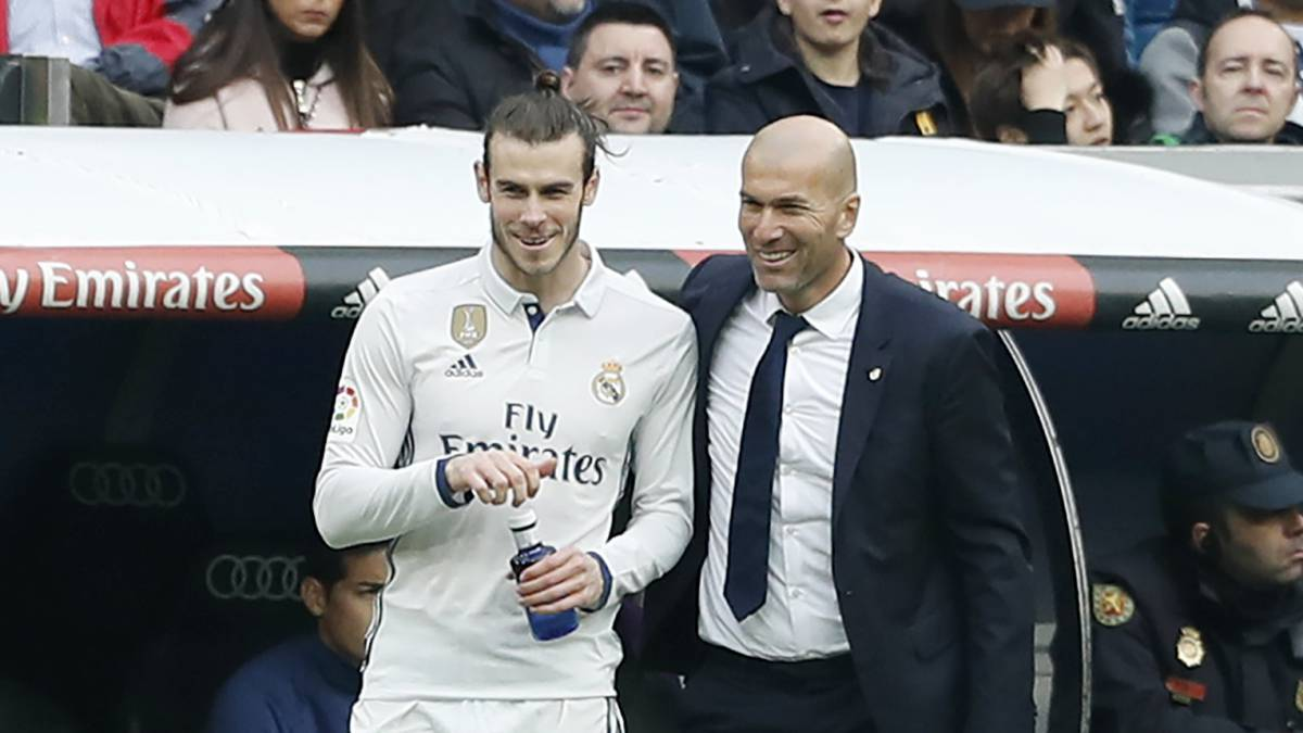 Image result for Zidane and Bale pictures