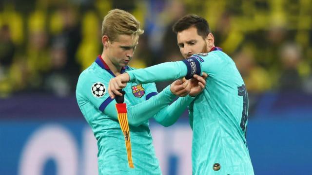 De jong Interview, De jong Messi