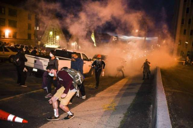 George Floyd protests and riots across America: Nashville ...