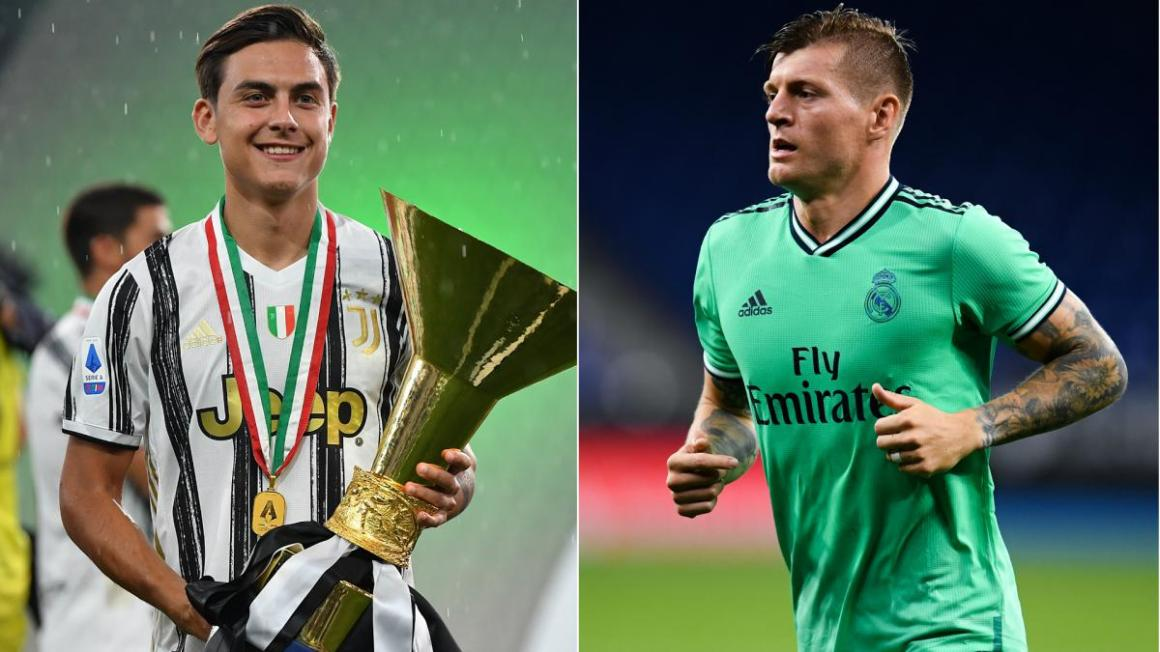Real Madrid want Dybala and may offer Juventus Kroos or Isco - AS.com