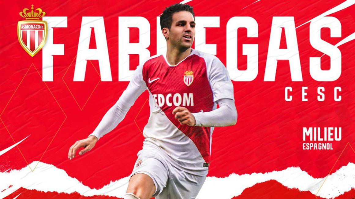 Official: Cesc Fàbregas signs with AS Monaco till 2022 - AS.com