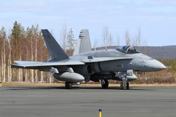 Finnish Air Force F-18 Hornet