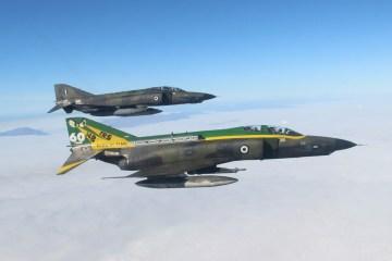 Hellenic Air Force 110 Combat Wing RF-4E Phantom Larissa AB