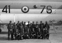 1986_Prima della partenza per una trasvolata atlantica
