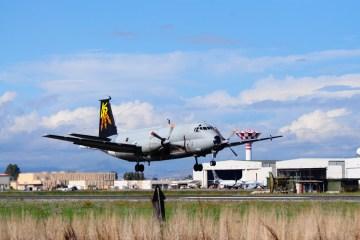 BR 1150 Atlantic Italian Air Force farewell