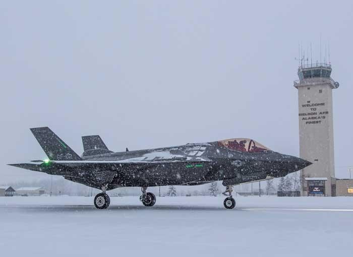 F-35A winter testing