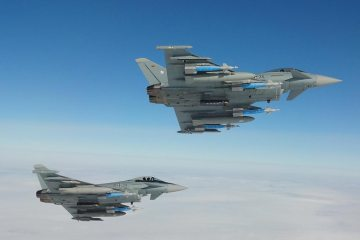 German Eurofighters WTD61