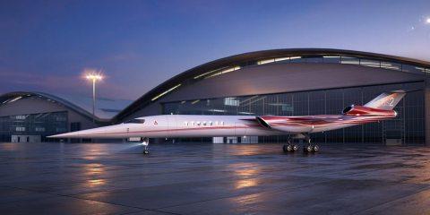 Aerion Lockheed Martin supersonic business jet