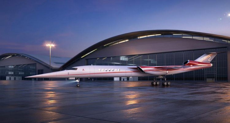 Aerion Lockheed Martin supersonic business jet