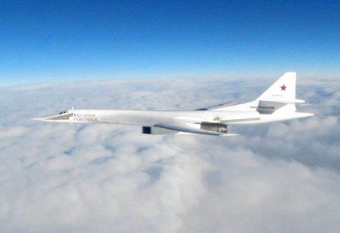 Russian Aerospace Forces TU-160 strategic bombers