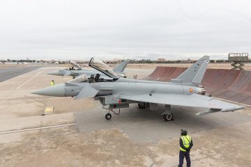 spanish air force eurofighter typhoon