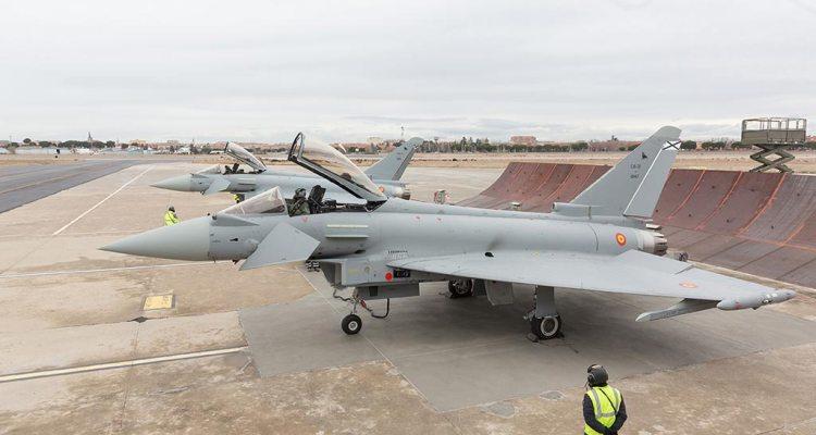 spanish air force eurofighter typhoon