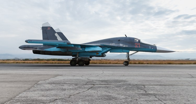 Russian Air Force SU-34 bomber