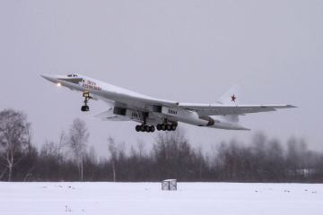 Tupolev TU-160 russian strategic bomber