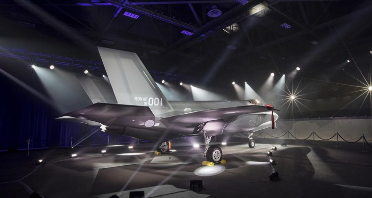 ROKAF Republic of Korea Air Force F35