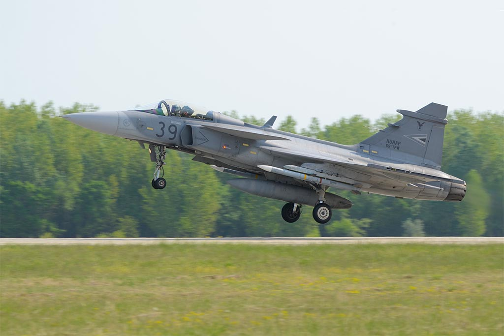JAS-39 Gripen Hungarian Air Force