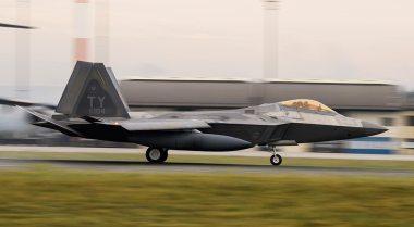 USAF F-22 Raptor in Europe 2018