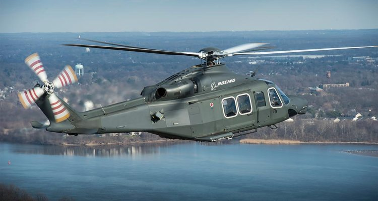 Boeing Leonardo MH-139 for US Air Force