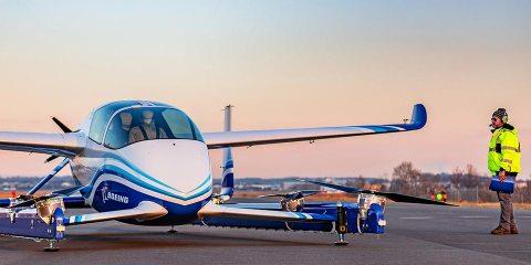 boeing PAV - Autonomous Passenger Air Vehicle