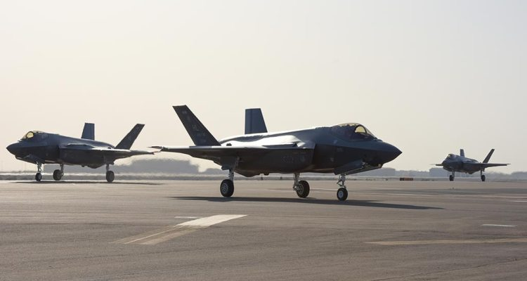 USAF F-35A in Middle East