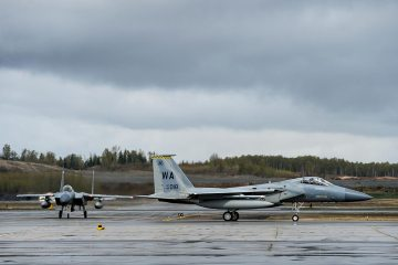 US Air Force exercise Northern Edge 2019