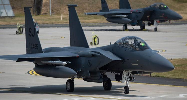 USAF F-15E Rapid Reforge 2019