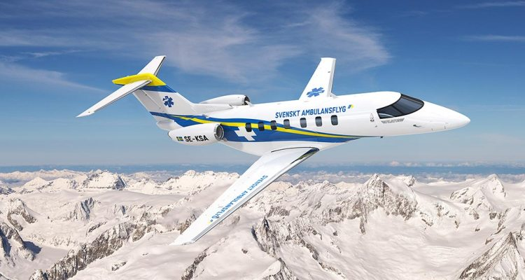 pilatus pc-24 sweden air ambulance