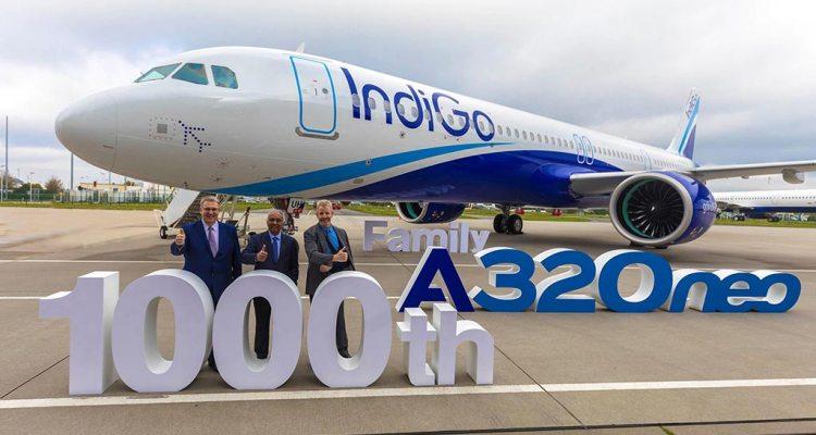 IndiGo 1000th Airbus A320 Family