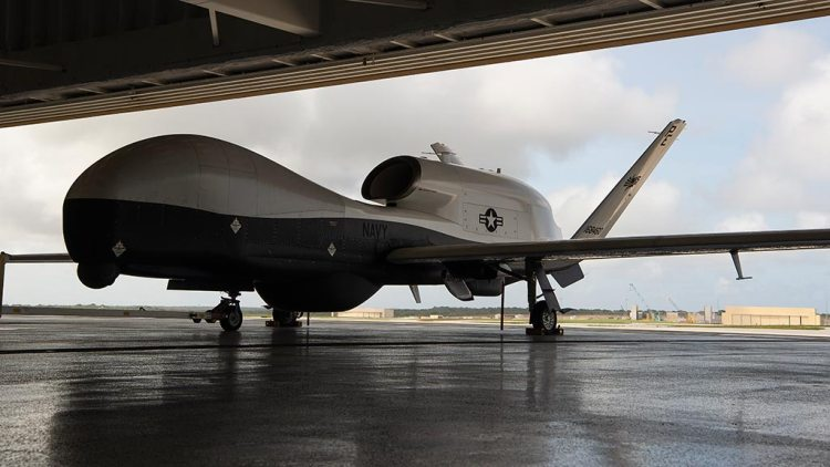 US Navy MQ-4C Triton