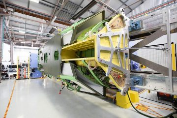 first loyal wingman drone fuselage