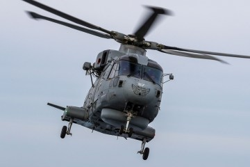 Mk2 Merlin from 814 Naval Air Squadron