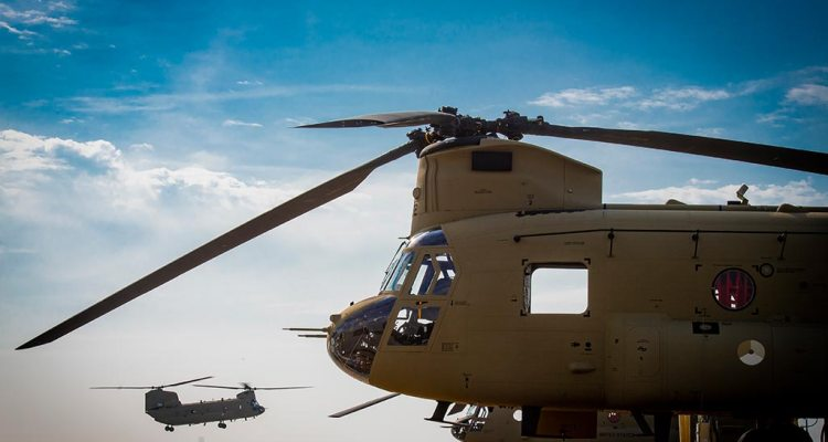 RNLAF CH47F Chinook